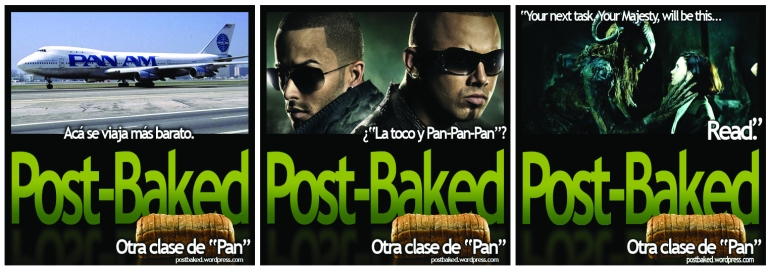 Post-Baked (Personal Blog Promo) - April, 2008